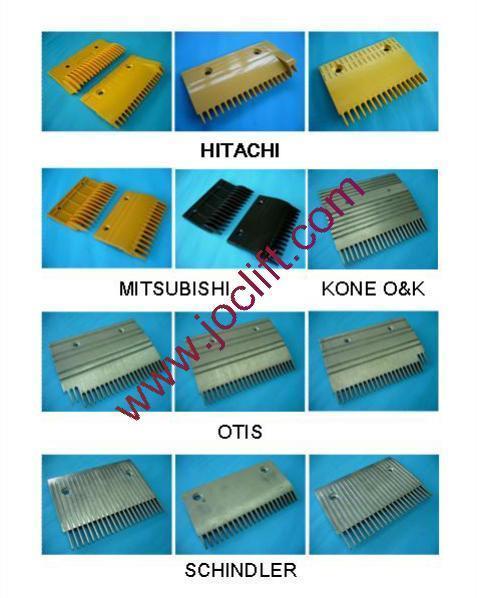 escalator comb plate schindler otis kone o k. Black Bedroom Furniture Sets. Home Design Ideas