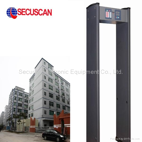 Secuscan Metal Detector Gates for Schools, Retail, Events AT-IIIA 1