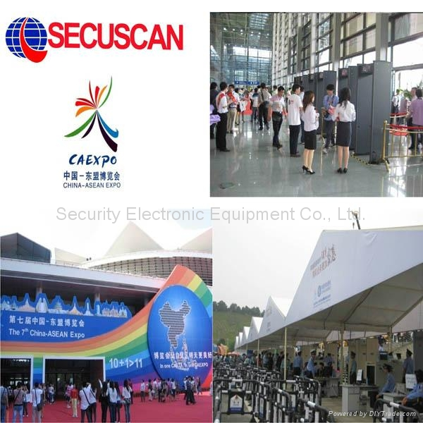 Secuscan Metal Detector Gates for Schools, Retail, Events AT-IIIA 2