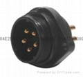 IP68 CE approval male and female connector  5