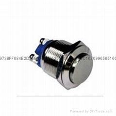 CE認証IP65 金屬頭帶燈按鈕開關