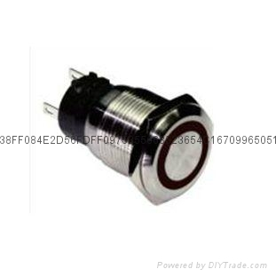 CE appproval IP 65 vandal proof push button switch 2