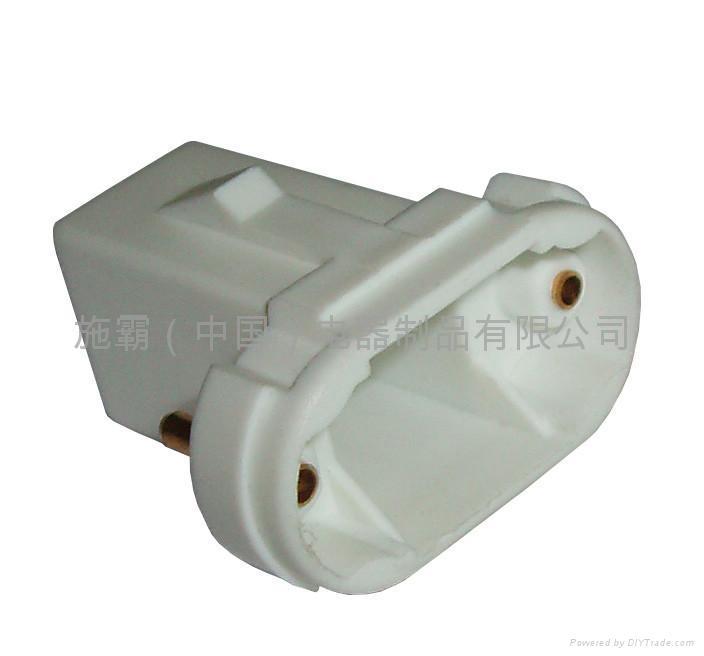 Compact fluorescent lampholder 1