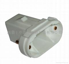 Compact fluorescent lampholder