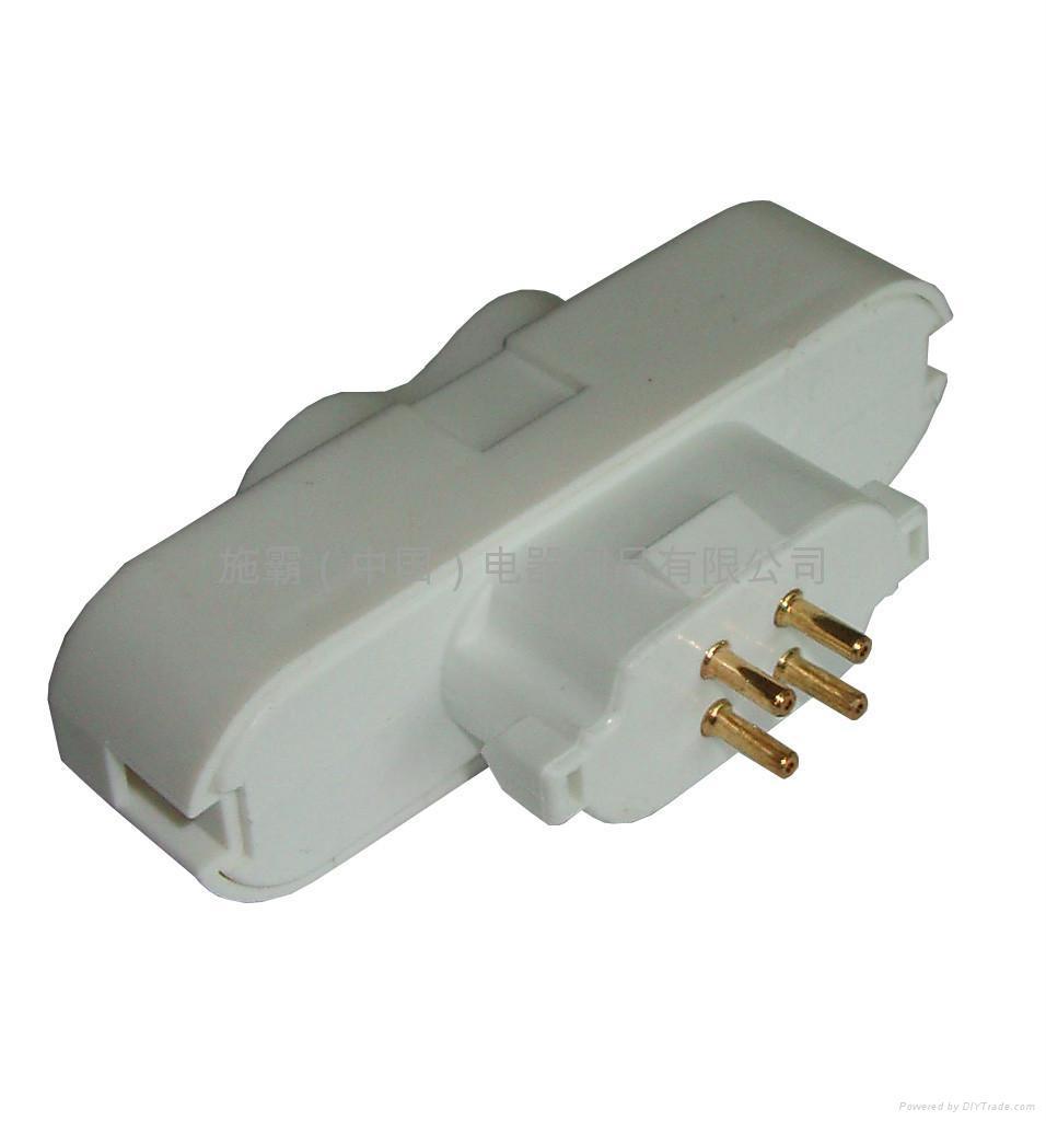 Compact fluorescent lampholder 3