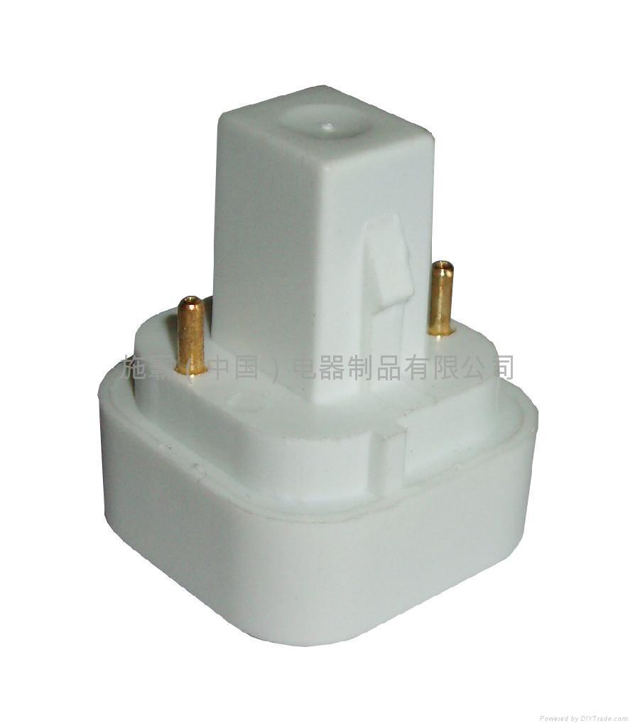 Compact fluorescent lampholder 5