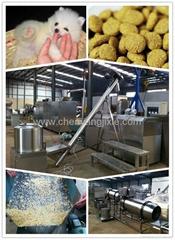 pet(dog,cat,fish) food processing line/machine/extruder