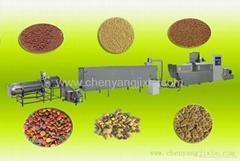 Automatic pet(dog cat fish )production line/processing /plant/ma