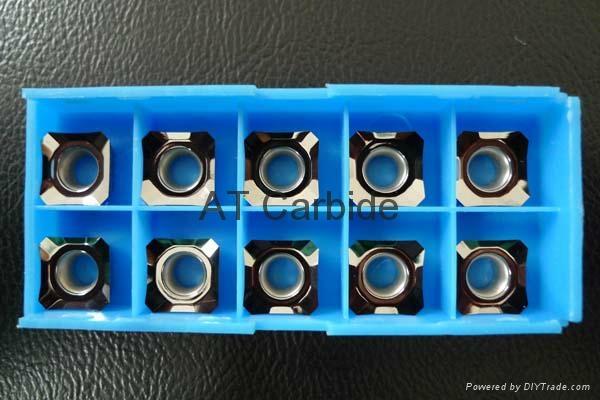 Carbide Inserts for Aluminum 2