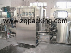 1-3 Gallon washing Filling capping machine