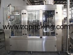 DCGF32-32-10 冲洗等压灌装旋盖三合一机(含气)