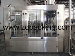 DCGF32-32-10 沖洗等壓灌裝旋蓋三合一機(含氣)