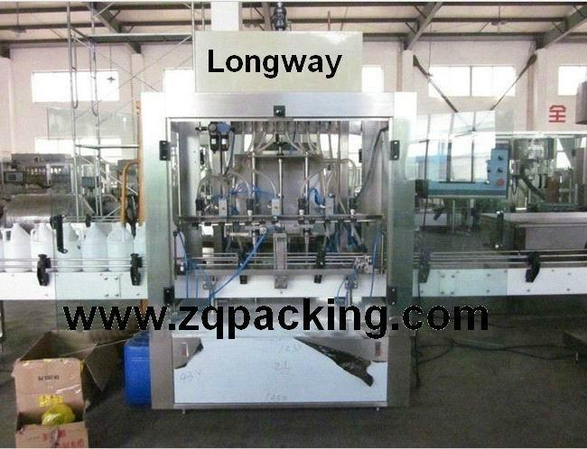 bleach filling machine (corrosive liquid filling machine ) 1
