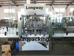 bleach filling machine (corrosive liquid filling machine )