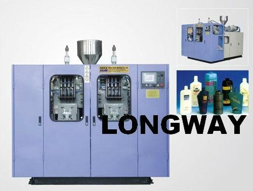 ZHT -II  2L Fully automatic extrusion blow moulding machine(Double station) 1