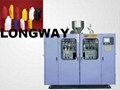 ZHT-II-5L Fully automatic extrusion blow moulding machine(Double station)