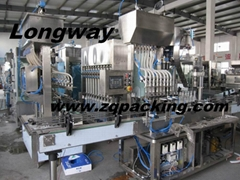 automatic bathroom cleaner filler ,automatic Glass Cleaner filling machine
