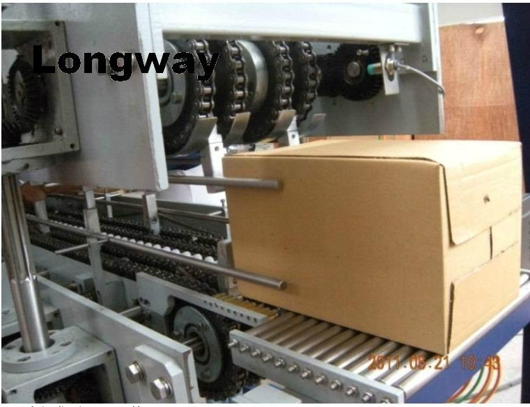 hot melt glue corrugated carton box wrapping machine 1