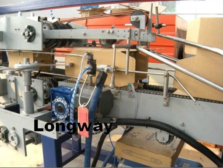 hot melt glue corrugated carton box wrapping machine 2