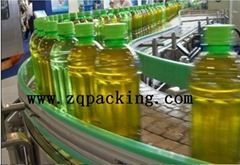 Juice Bottle Conveying Belt system ,Belt Transmission Conveyor chain