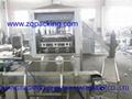 Automatic 3 gallon barrel filling device