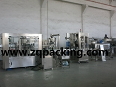 Table water Washing Filling Capping Three in one unit