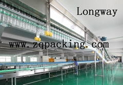 Air conveyor system for PET bottle