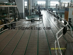 Accumulation Conveyor for beverage industry
