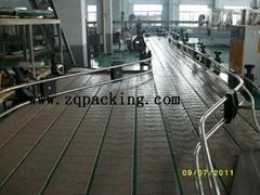 Accumulation Conveyor for beverage industry