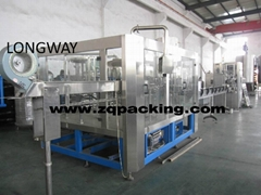 3-in-1 automatic purified drinking water filling machine