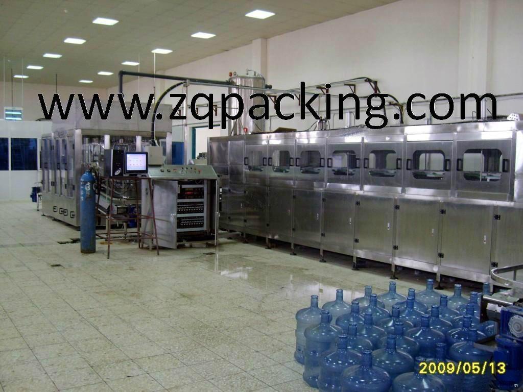 Automatic 3 Gallon Pure Water Filling Equipment/Barrel Filling Machine