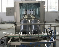 5 Gallon Filling System For Bottle Water Washing Filling Capping Three In One