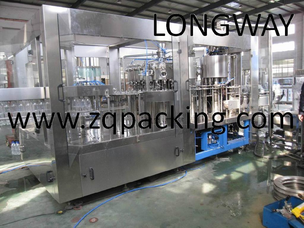 Soft drink carbonated beverage filling machine for sale