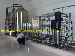 Complete river water purification system