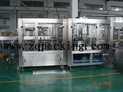 New Automatic 3 In 1 Carbonated Soft Drink Bottling Machine