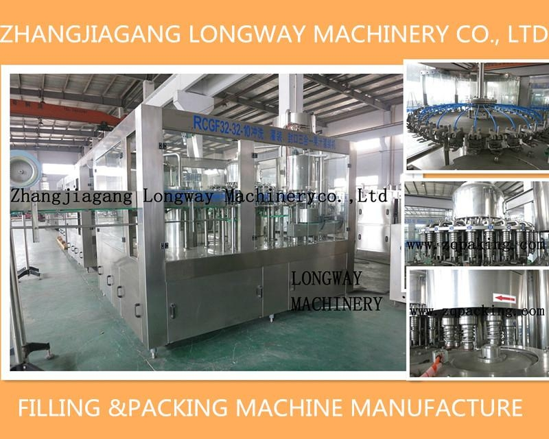 automatic glass bottle green tea filling line/Machine/Equipment 1