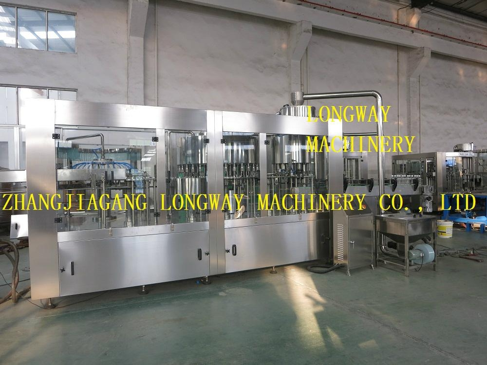 Monobloc Rotary Washer Filler Sealer Machine For Pure Water Mineral Water