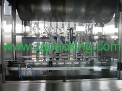 Automatic Pressure viscous liquid filling machine