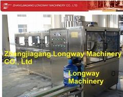 900桶纯净水桶装灌装设备,20L矿泉水灌装生产线