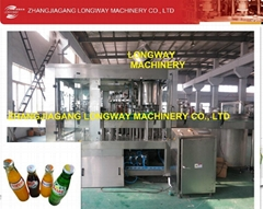 Automatic coca cola filling machinery/ pet bottle carbonated water filler