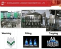Small Bottle Table Water Filling Machine,Rinser-Filler-Capper 3 in 1