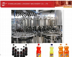 Fully Automatic Carbonated Water Machine Of Cola/Sprite Filling Machine