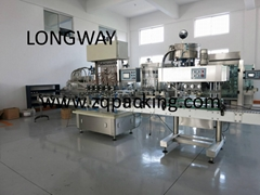 Lavatory Cleaner filling machine ( Lavatory cleaner filler )