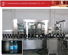 Rotary Plastic Bottle Drinking Water Filling Machine ( CGF 16-2-6)