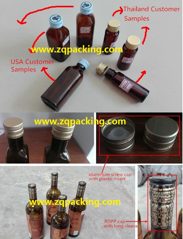 Fully Automatic Glass Bottle Aluminium Screw Cap Capping Machine/ROPP Capping Ma 3