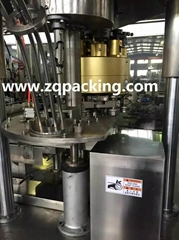 CE approved automatic can filling machine