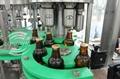 玻璃瓶果汁饮料拉环盖冲瓶灌装封口机 1