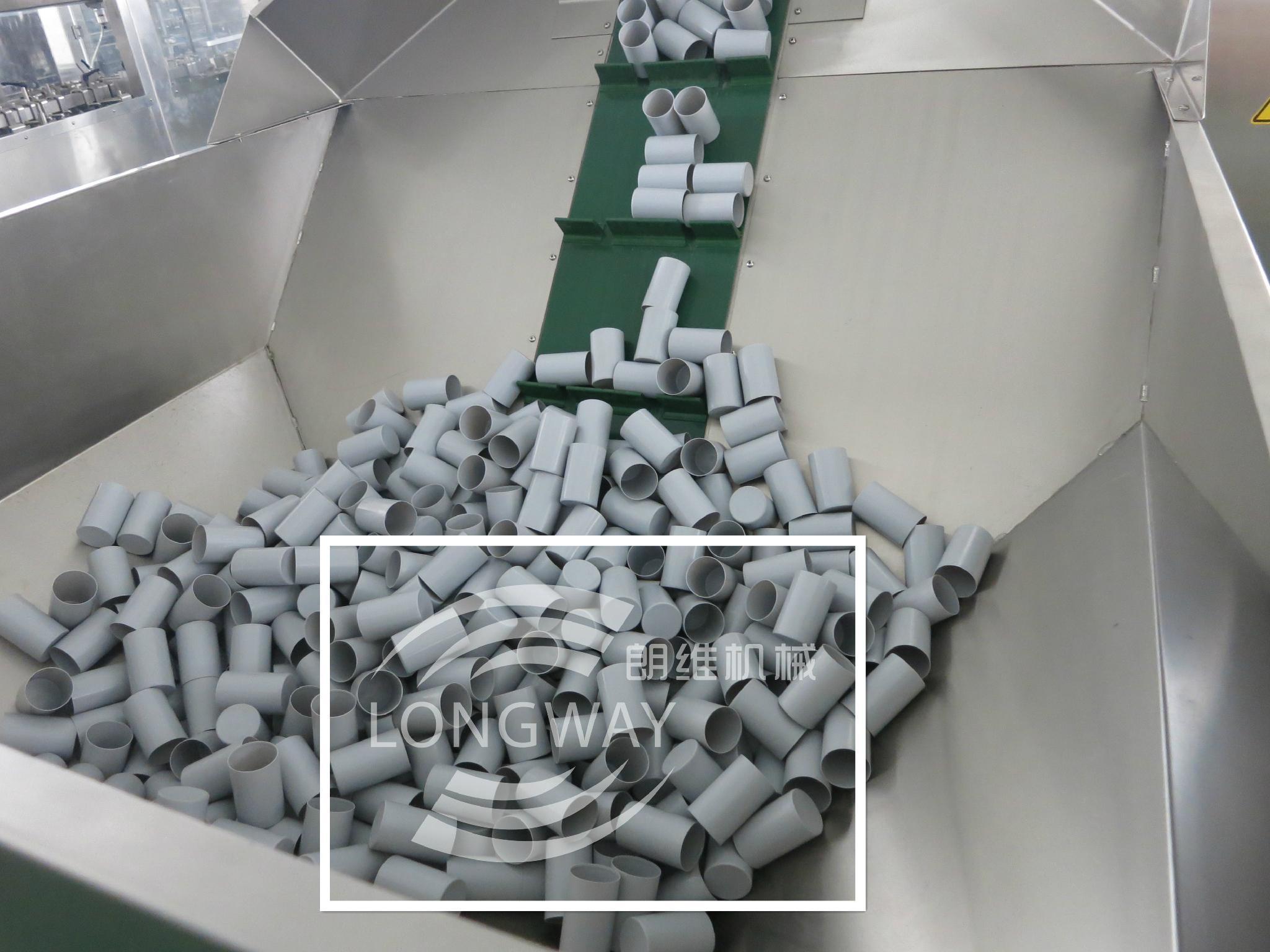 automatic bottle unscramble for plastic bottles 2