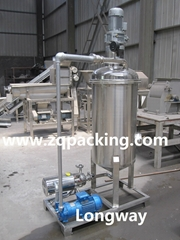 Vacuum Deaerating Machine/ beverage treatment