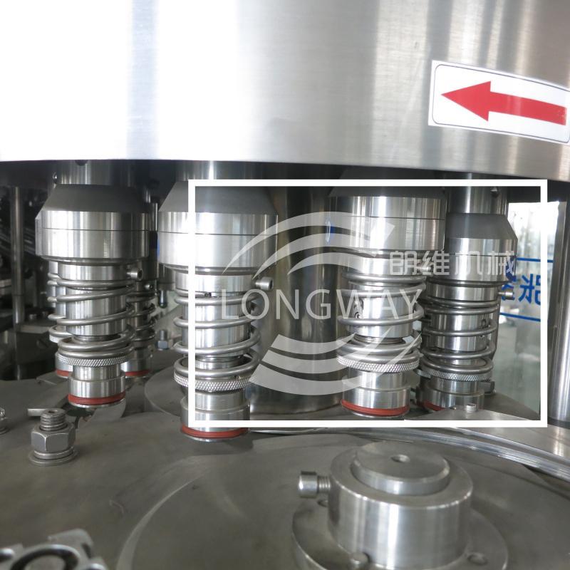 CGF40-40-12 回转式液体三合一灌装机 4